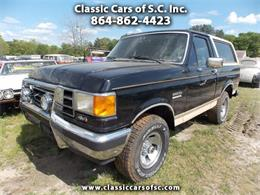 Picture of '90 Ford Bronco - $4,500.00 Offered by Classic Cars of South Carolina - KXJP
