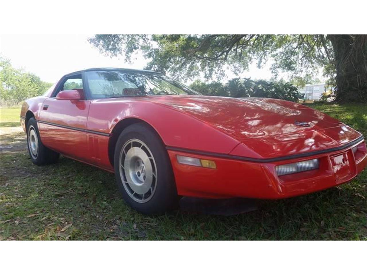 Large Picture of '86 Corvette - KXVN
