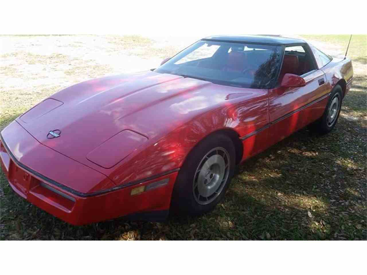 Large Picture of '86 Corvette - KXVN