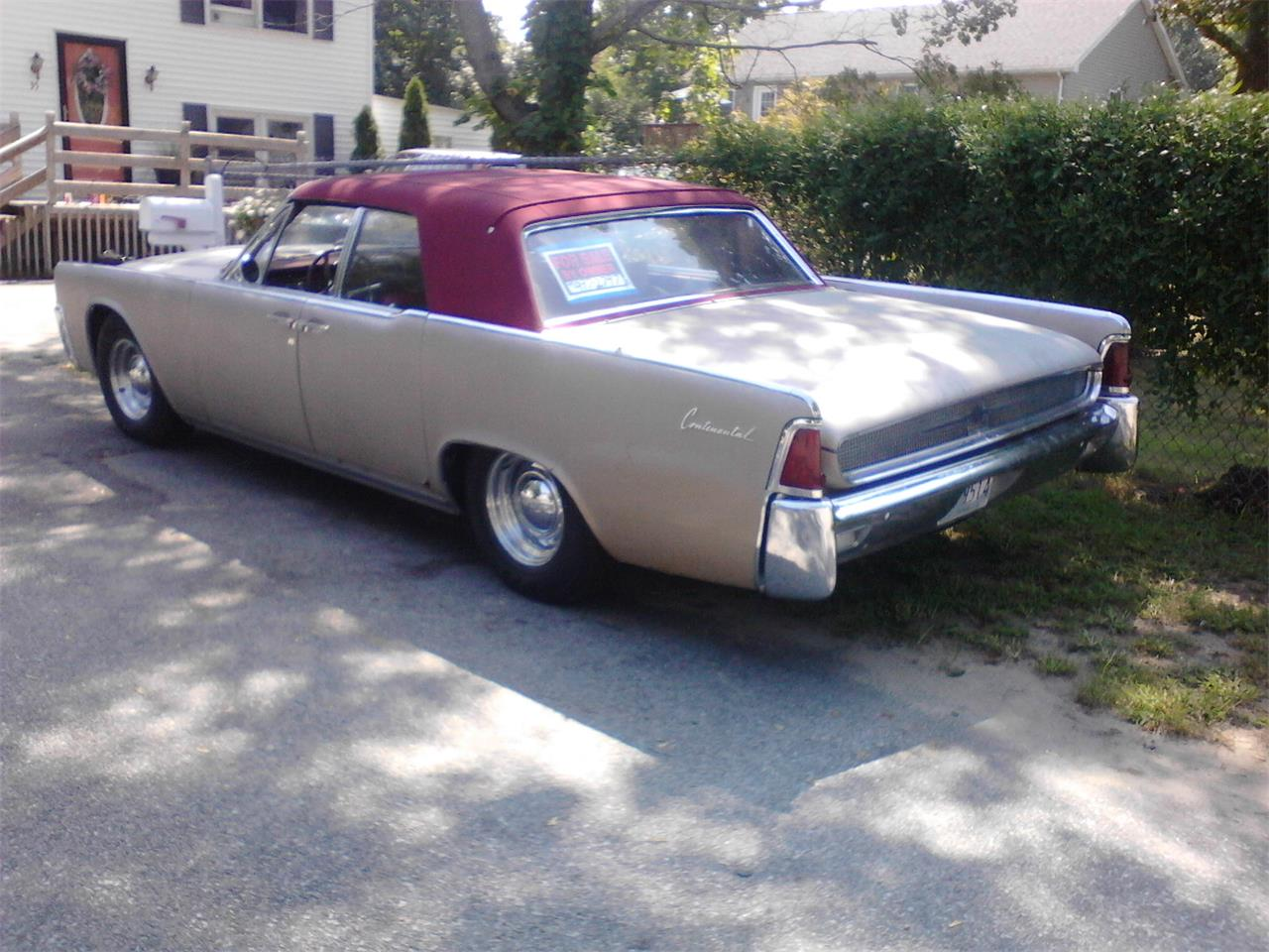 Large Picture of '61 Continental located in Warwick Rhode Island - $20,000.00 Offered by a Private Seller - KY2A