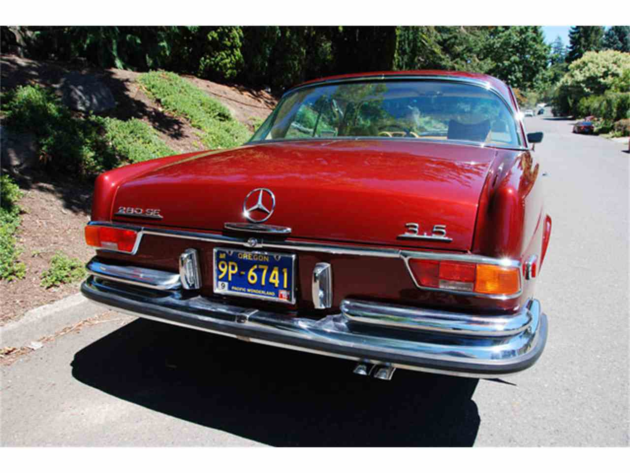 1971 mercedes benz 280se for sale cc for Mercedes benz portland or
