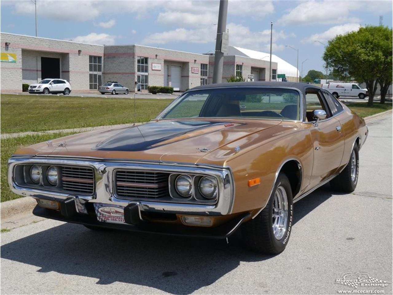 Large Picture of Classic '73 Dodge Charger located in Alsip Illinois Offered by Midwest Car Exchange - KY4G