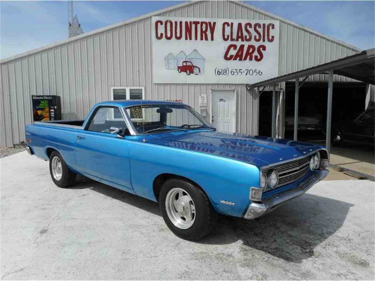 1968 ford ranchero for sale cc 977502. Black Bedroom Furniture Sets. Home Design Ideas