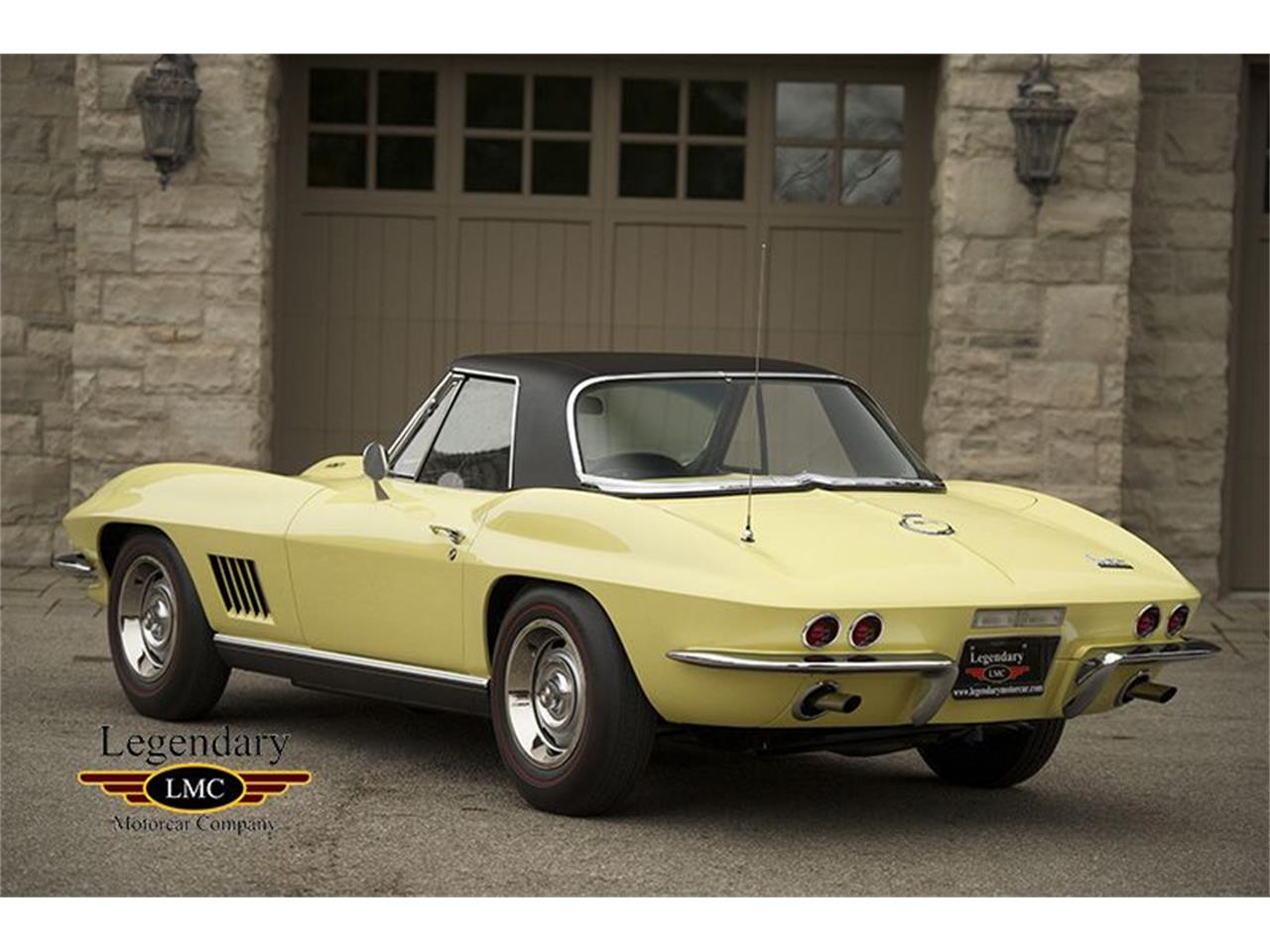 Large Picture of Classic '67 Chevrolet Corvette located in Ontario - $171,500.00 Offered by Legendary Motorcar Company - KYAL