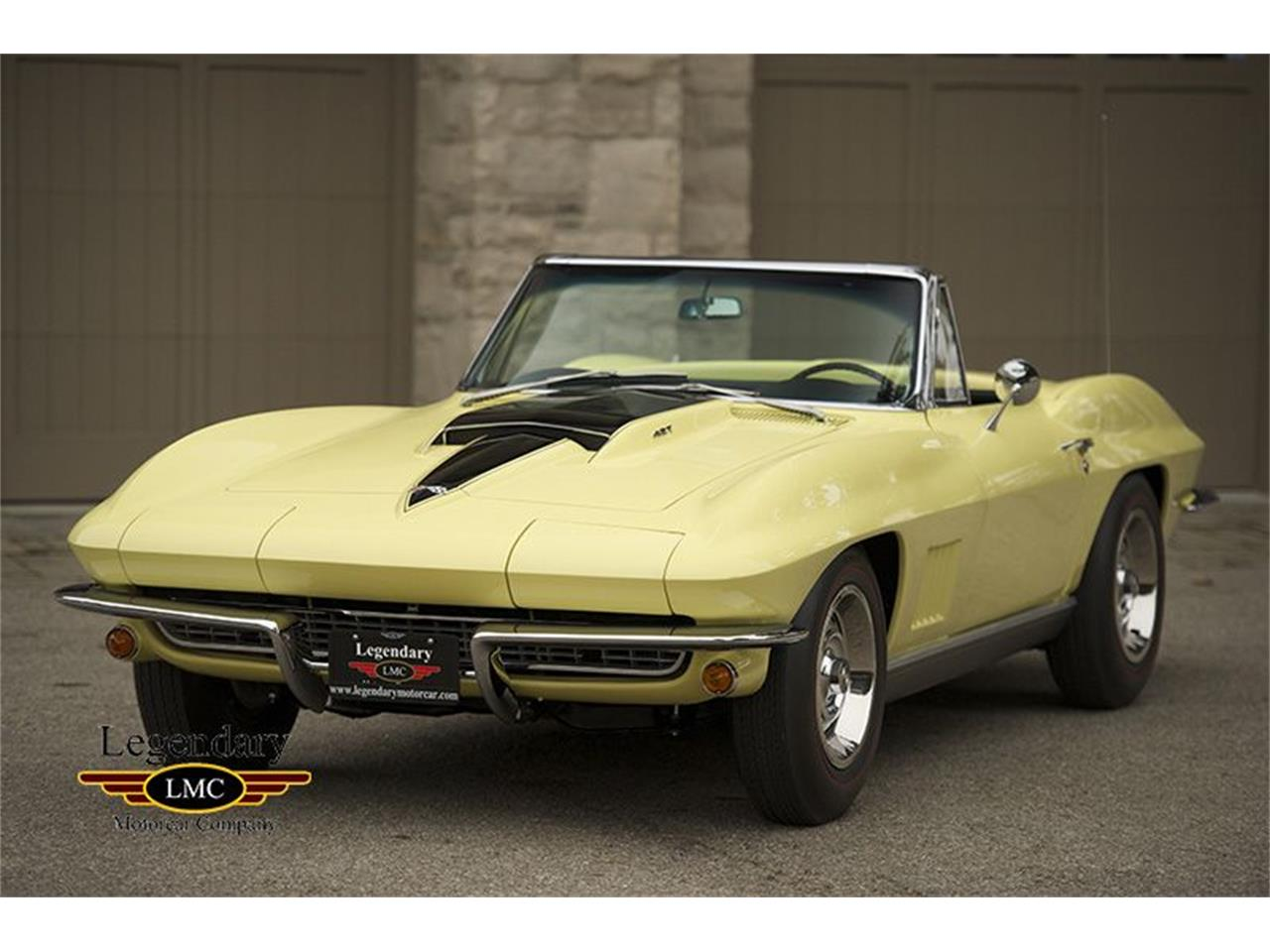 Large Picture of Classic '67 Corvette located in Halton Hills Ontario Offered by Legendary Motorcar Company - KYAL