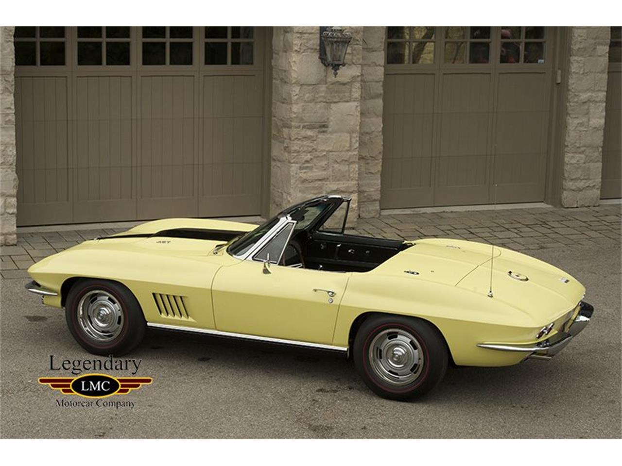 Large Picture of 1967 Chevrolet Corvette located in Halton Hills Ontario - $171,500.00 Offered by Legendary Motorcar Company - KYAL