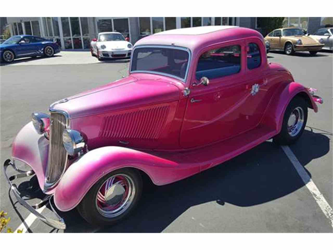 1933 ford 5 window coupe for sale cc 977807. Black Bedroom Furniture Sets. Home Design Ideas