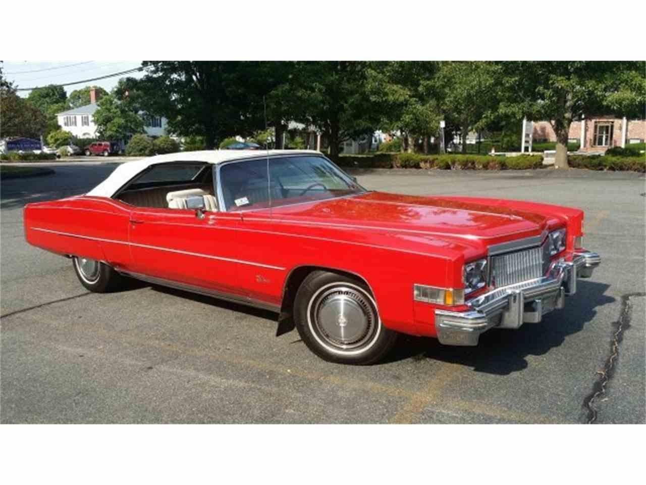 1974 Cadillac Eldorado for Sale   ClicCars.com   CC-977847