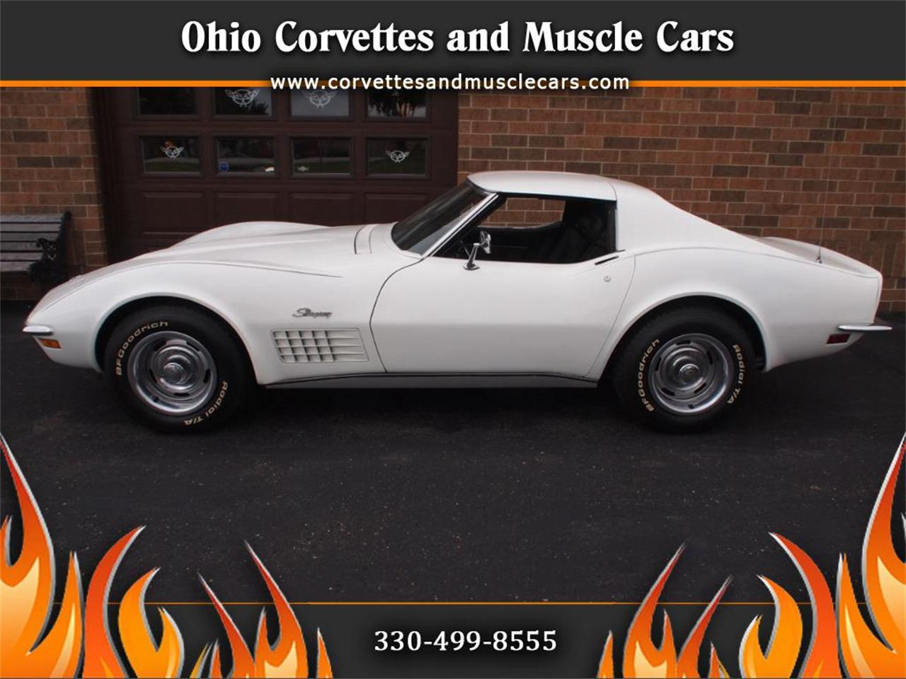 Large Picture of '72 Chevrolet Corvette located in North Canton Ohio Offered by Ohio Corvettes and Muscle Cars - KYTP