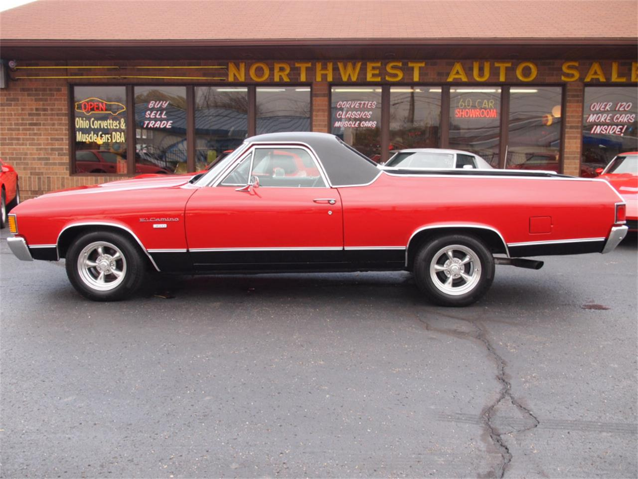Large Picture of Classic 1972 Chevrolet El Camino located in Ohio - $29,900.00 Offered by Ohio Corvettes and Muscle Cars - KYUI