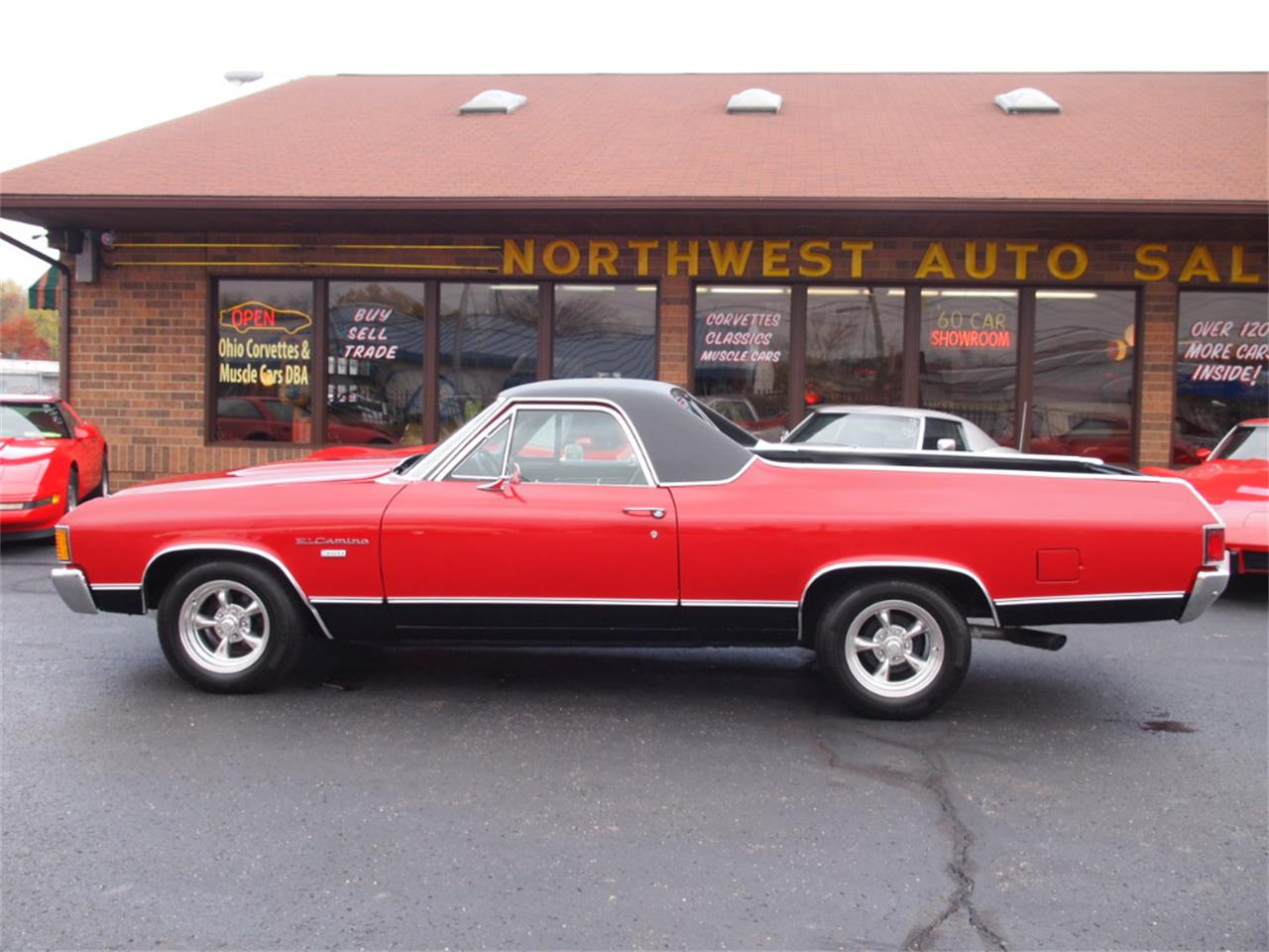 Large Picture of Classic 1972 El Camino Offered by Ohio Corvettes and Muscle Cars - KYUI