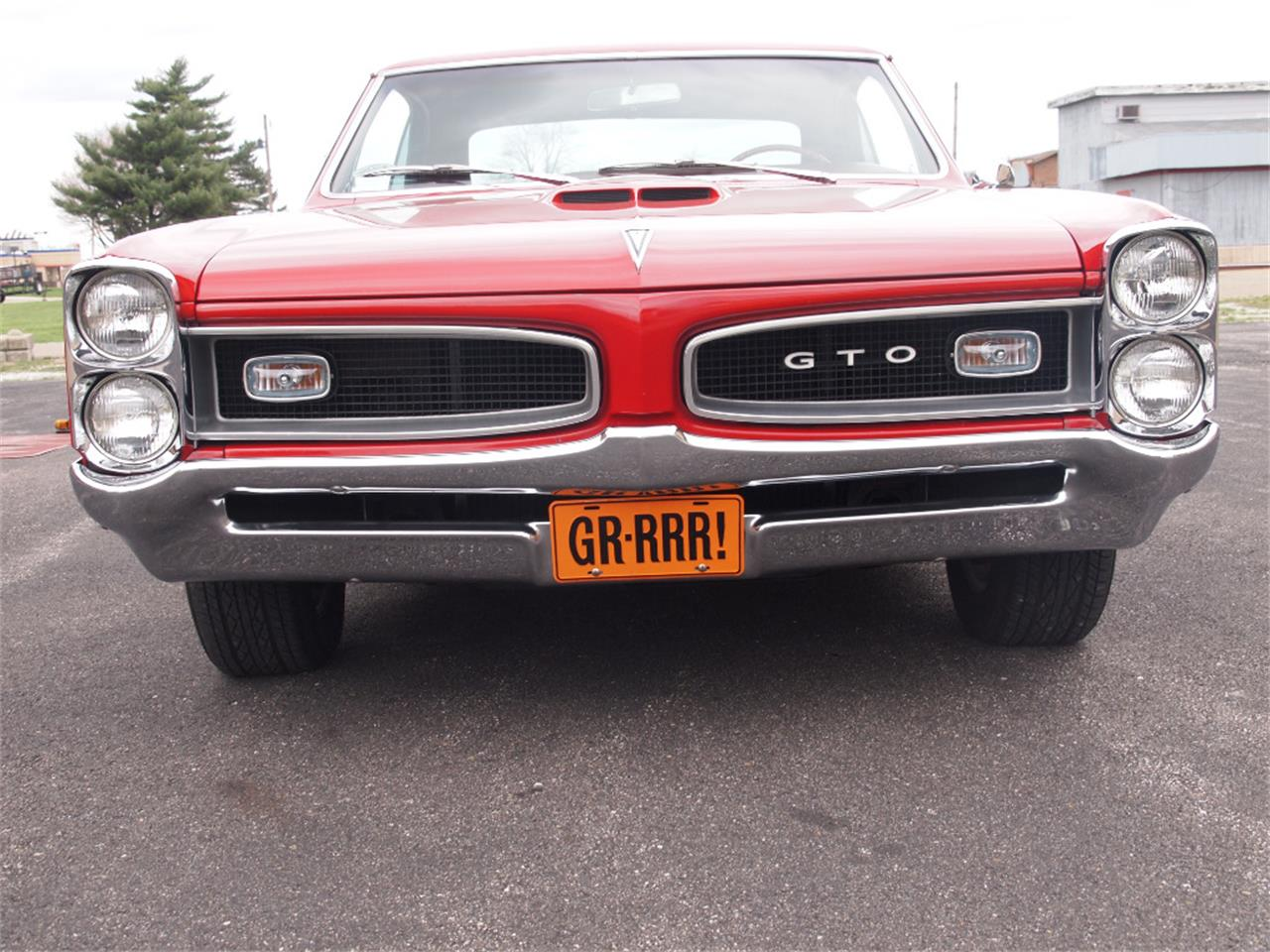 Large Picture of Classic 1966 GTO - $59,500.00 Offered by Ohio Corvettes and Muscle Cars - KYVG