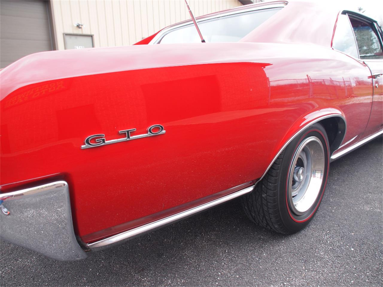 Large Picture of '66 Pontiac GTO Offered by Ohio Corvettes and Muscle Cars - KYVG