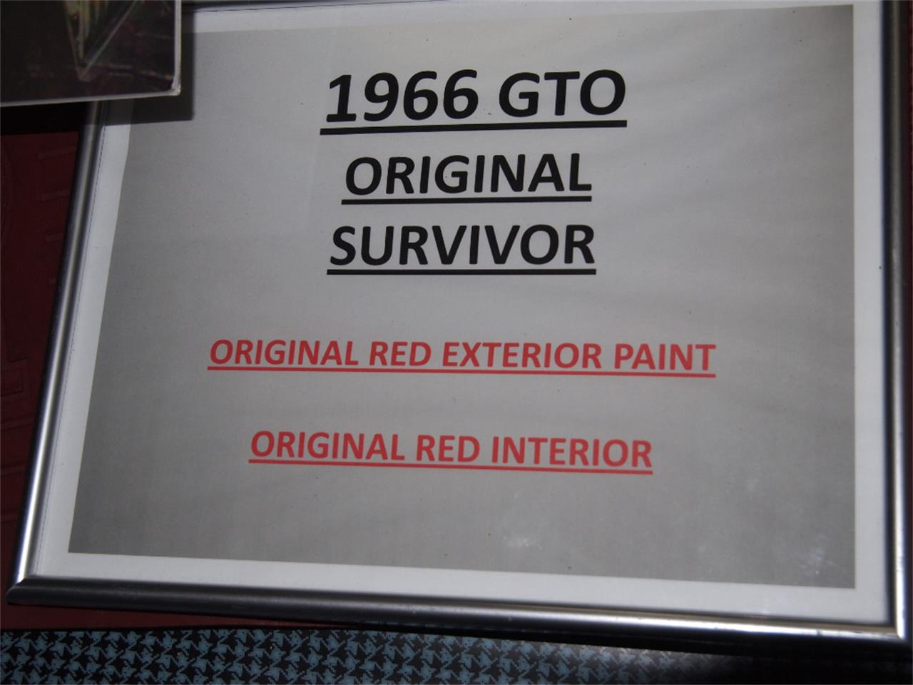 Large Picture of Classic 1966 GTO - KYVG