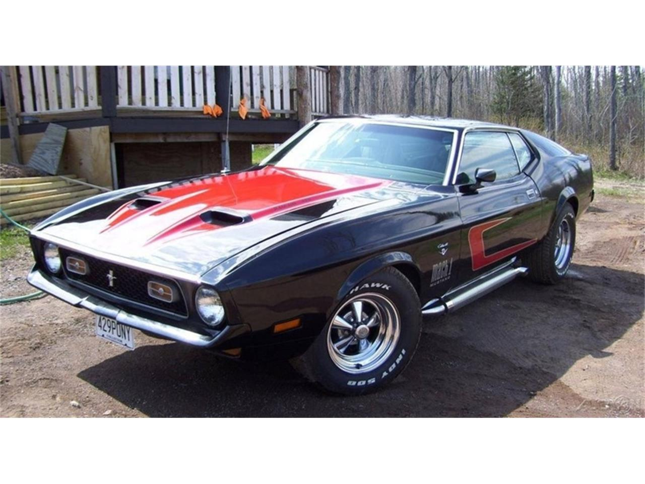 1971 Ford Mustang Mach 1 Fastback 429 C6 For Sale 1964 Large Picture Of 71 Kt3z