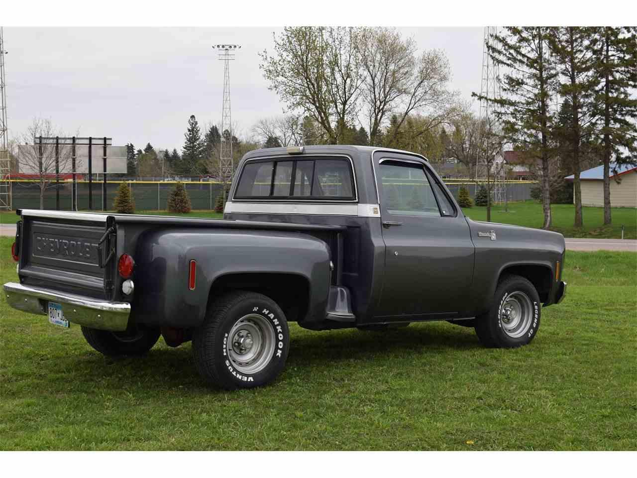 1976 chevrolet pickup for sale cc 978656. Black Bedroom Furniture Sets. Home Design Ideas