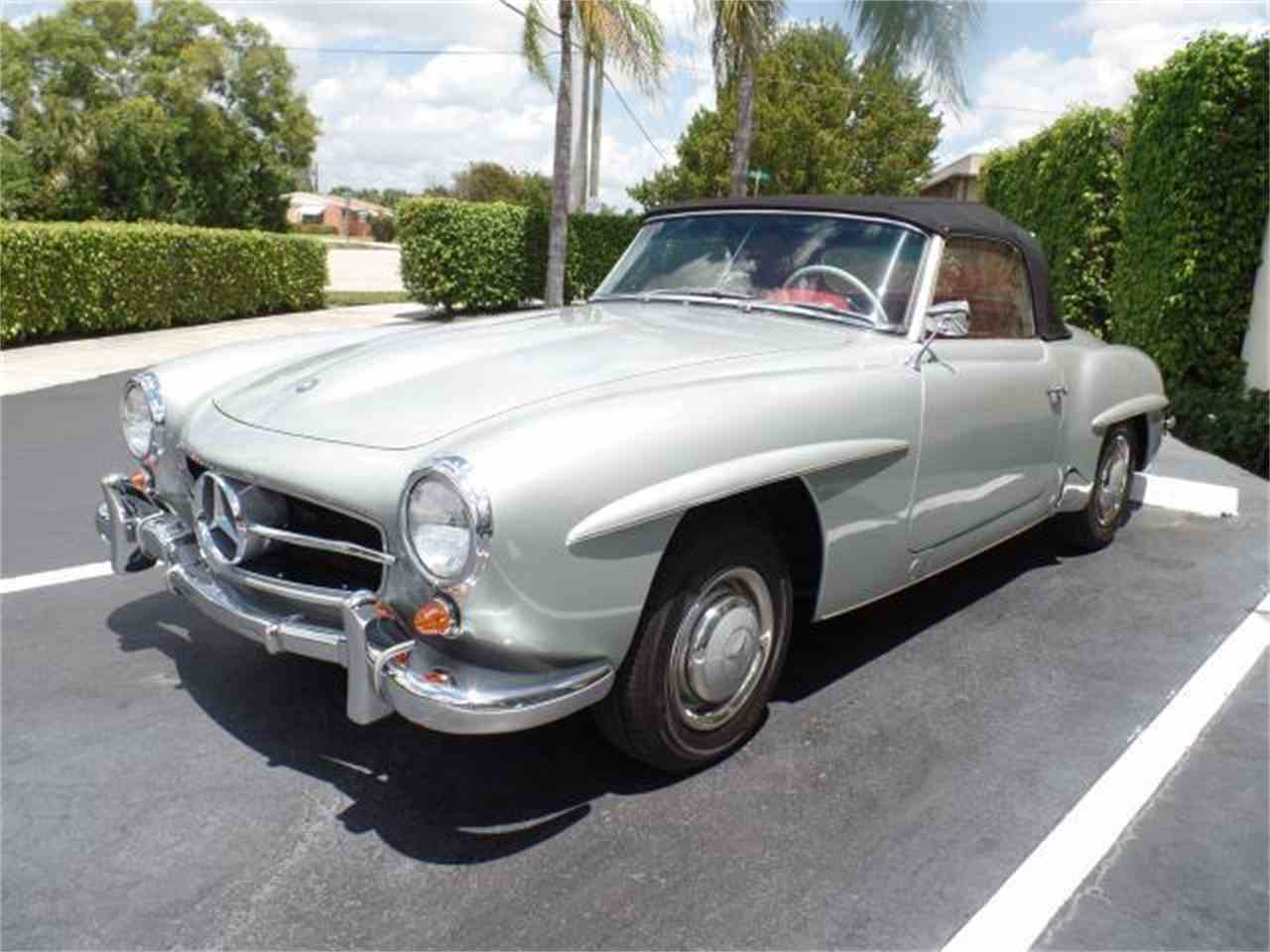1956 mercedes benz 190sl for sale cc for Mercedes benz west palm beach florida