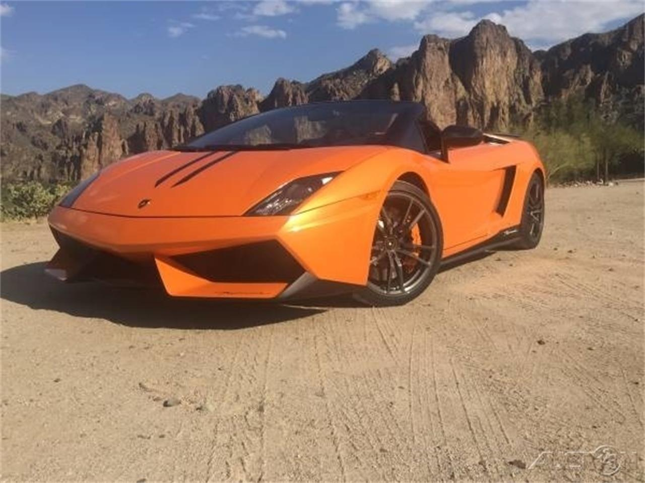 2011 Lamborghini Gallardo Twin Turbo Lp570 4 Spyder Performante For