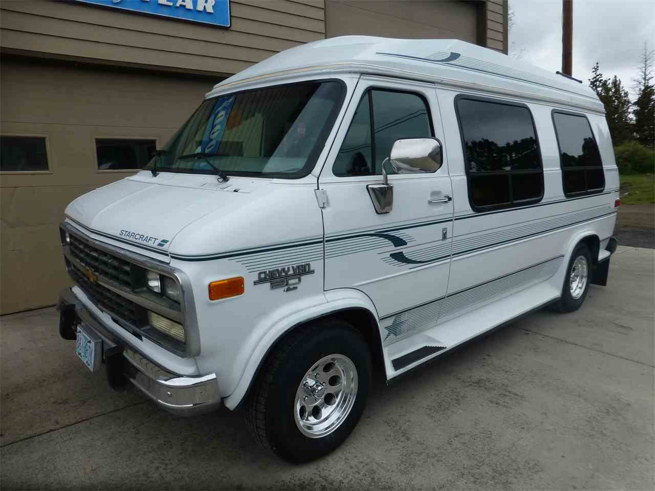 1994 chevrolet g20 conversion starcraft for sale. Black Bedroom Furniture Sets. Home Design Ideas
