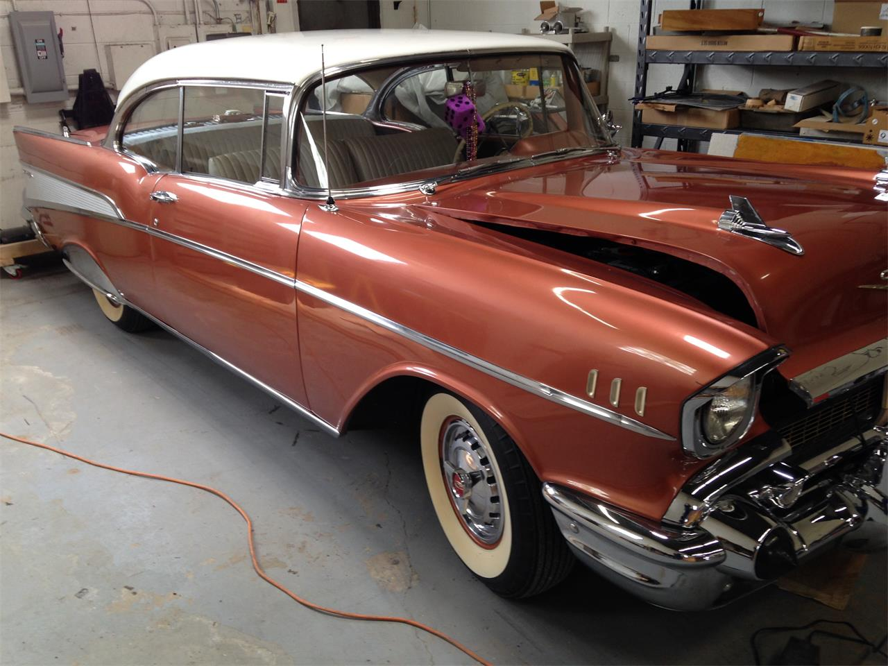 Large Picture of '57 Bel Air - KZMQ