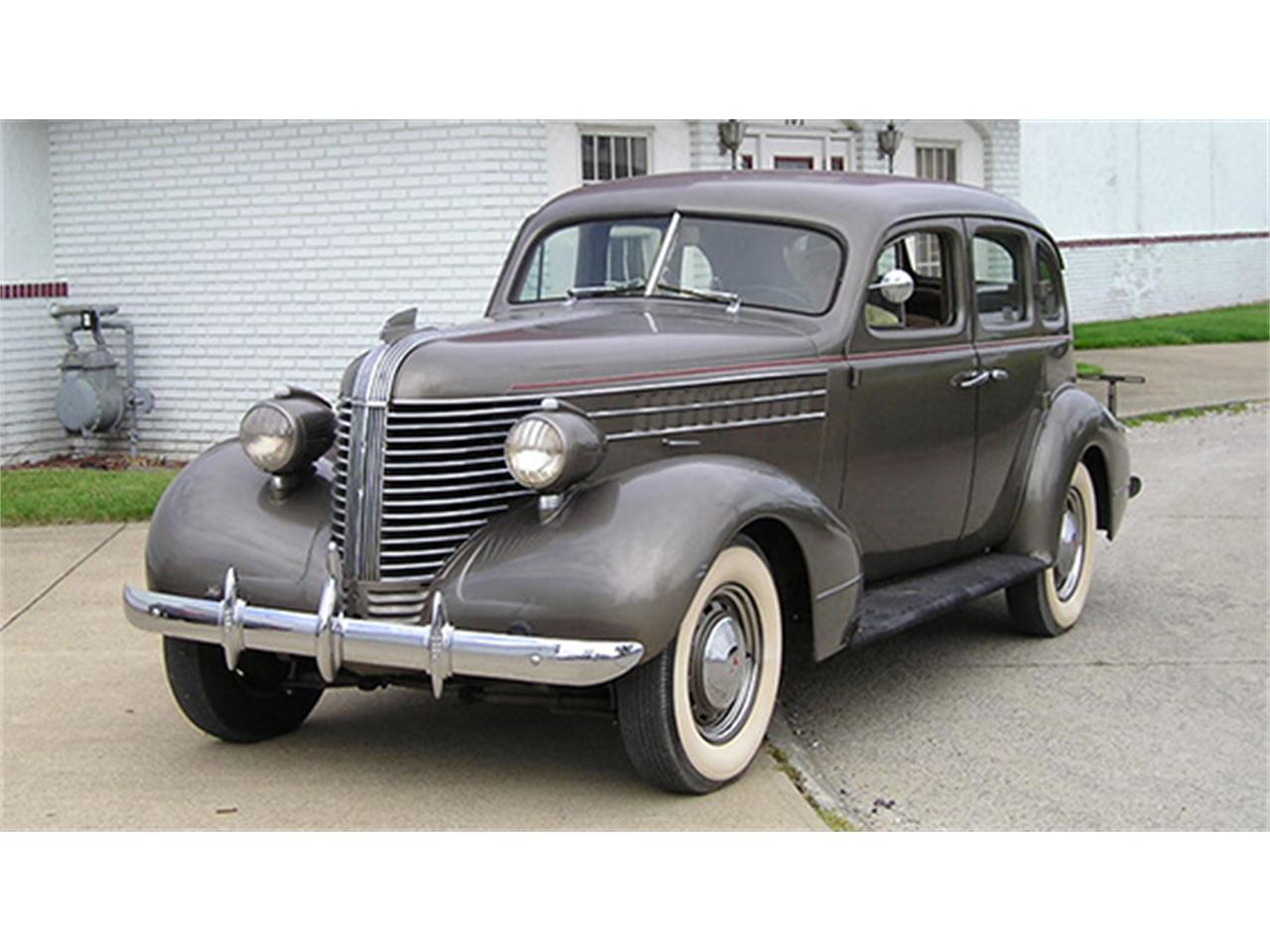 1938 Pontiac Series 28 Deluxe Four Door Touring Sedan For Sale