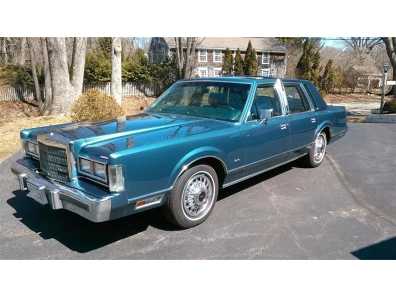 1988 Lincoln Town Car For Sale Classiccars Com Cc 979542