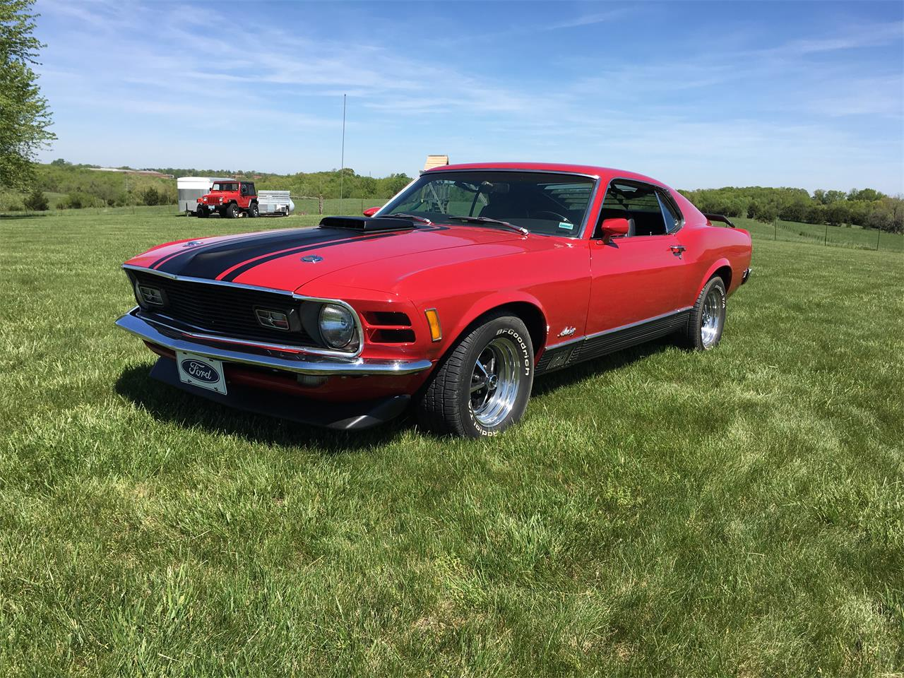 Large Picture of Classic 1970 Ford Mustang Mach 1 located in Jefferson City  Missouri - KZXT
