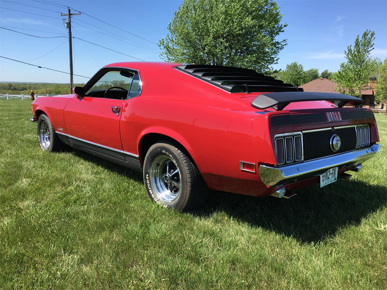 Large Picture of Classic '70 Mustang Mach 1 located in Missouri Offered by Payne Motor Co. - KZXT