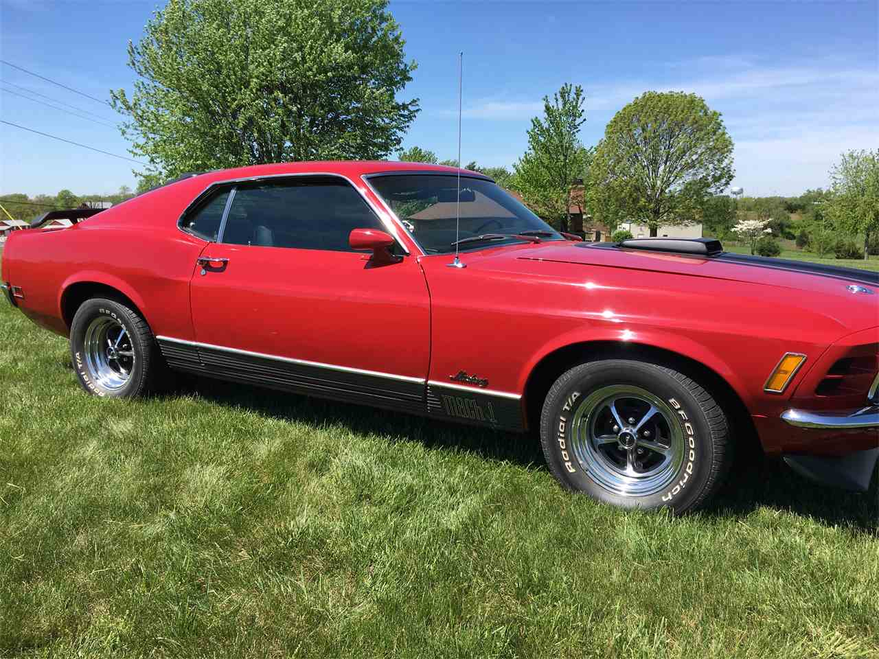 Large Picture of '70 Mustang Mach 1 - KZXT