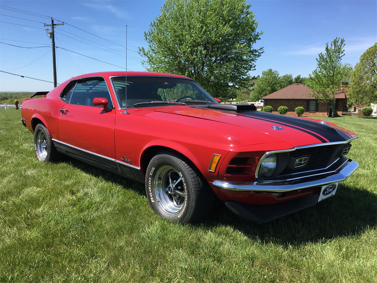 Large Picture of Classic '70 Mustang Mach 1 located in Jefferson City  Missouri - $52,500.00 - KZXT