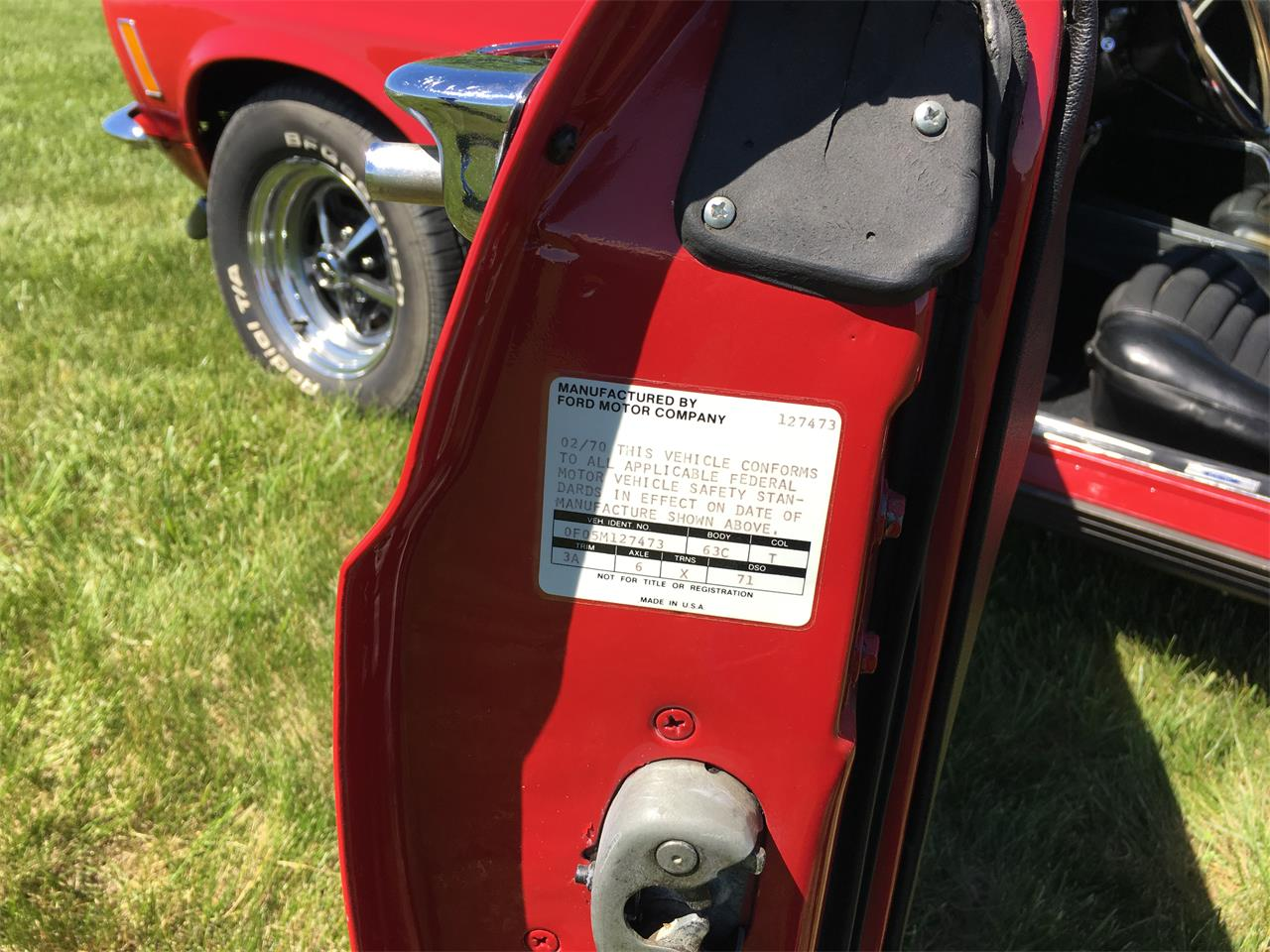 Large Picture of Classic 1970 Mustang Mach 1 - $52,500.00 Offered by Payne Motor Co. - KZXT