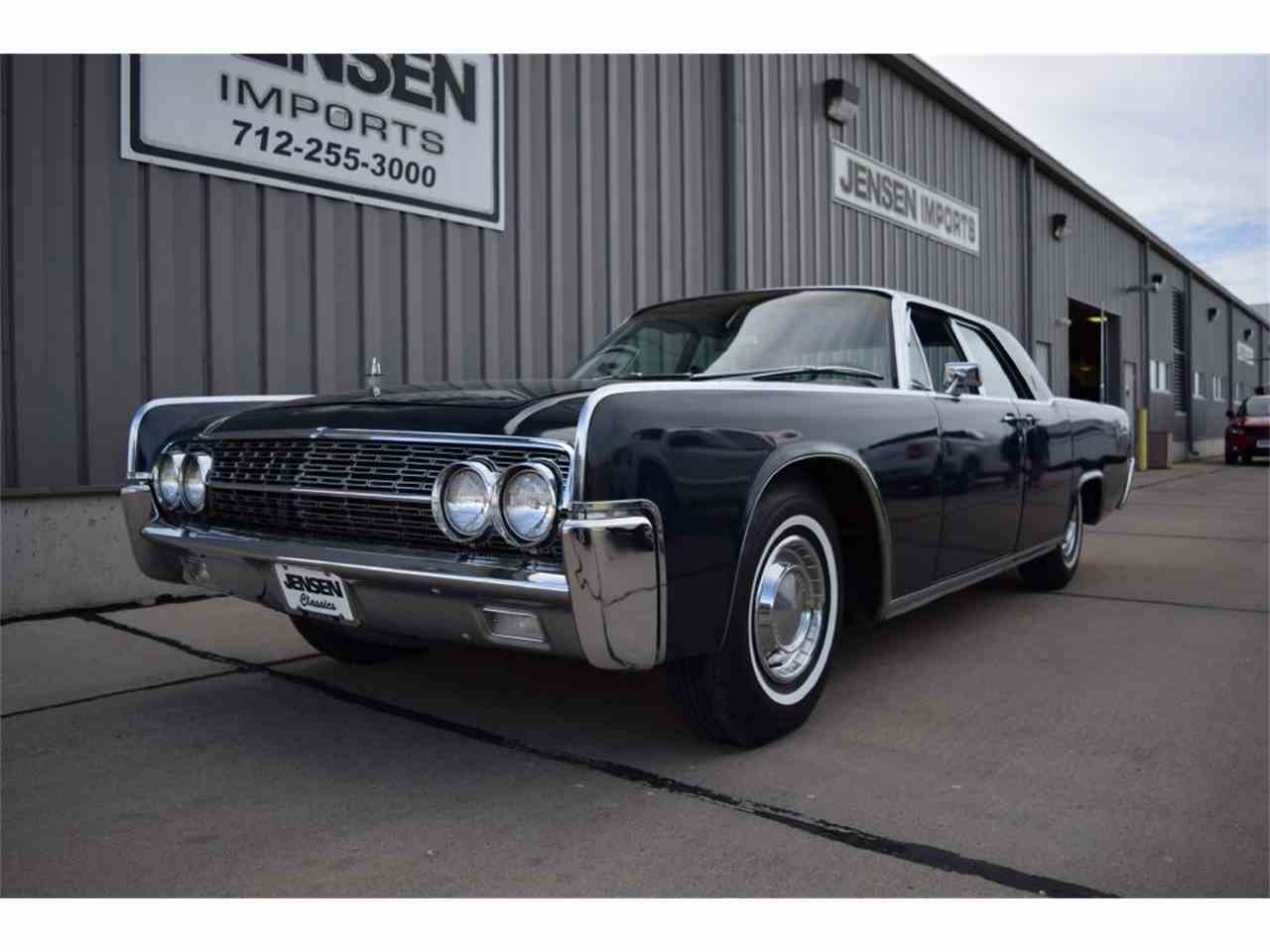 1962 lincoln continental for sale cc 979708. Black Bedroom Furniture Sets. Home Design Ideas