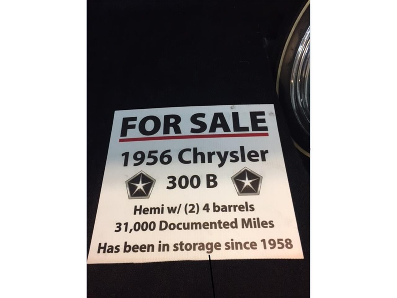 Large Picture of 1956 Chrysler 300B located in Yakima Washington - $89,900.00 Offered by a Private Seller - L00Q