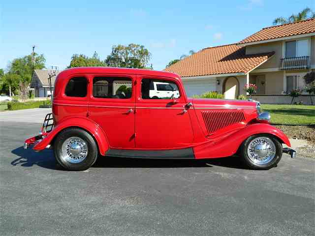 Picture of 1934 Ford 4-Dr Sedan located in orange California - $68,000.00 - L02K