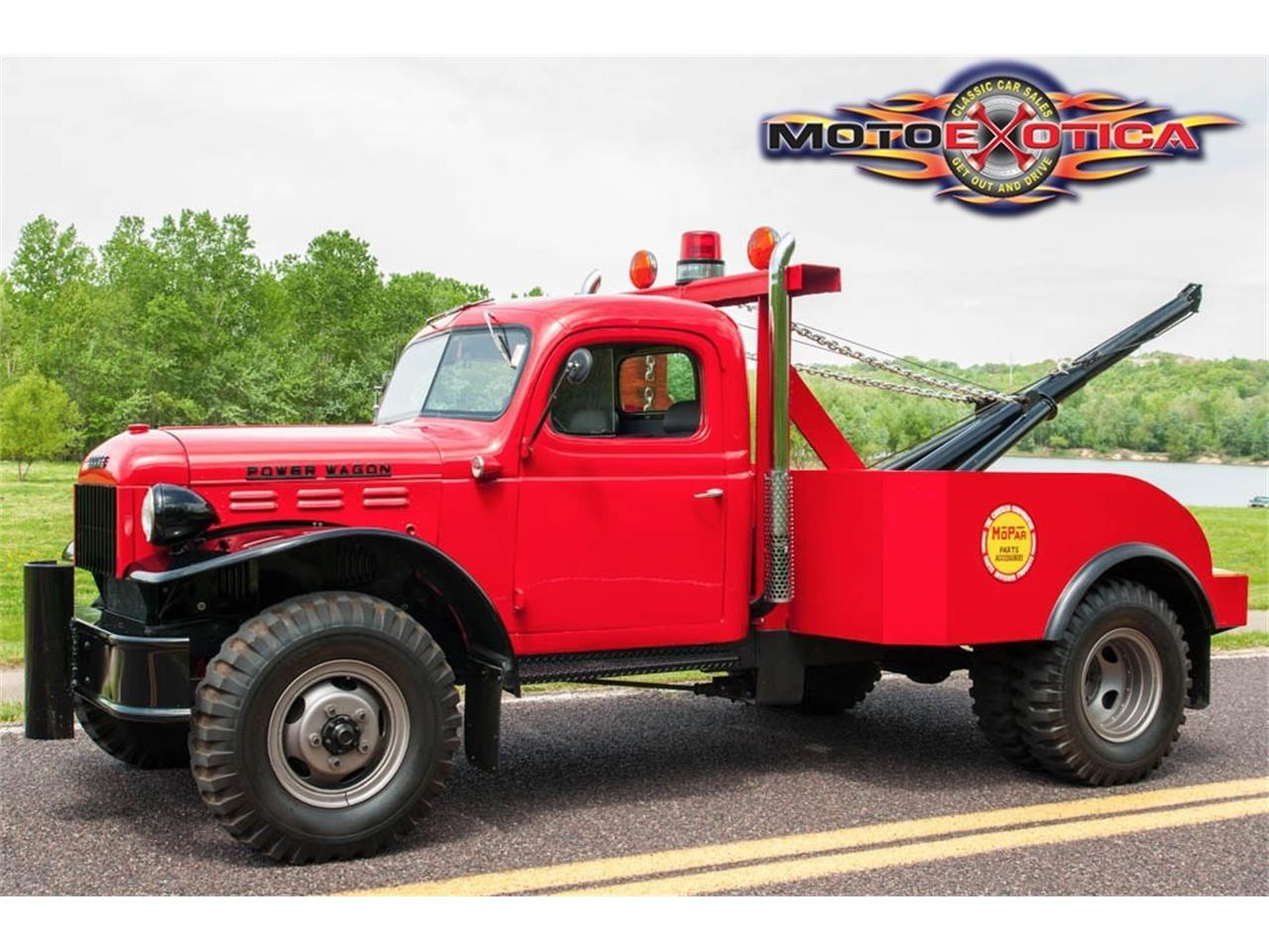 1942 Dodge Tow Truck Wiring Diagrams 1954 Power Wagon For Sale Classiccars Com Cc 979937 Rh 1944