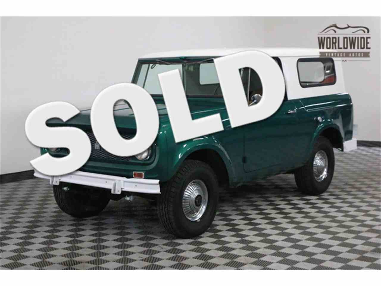 1964 International Scout for Sale | ClassicCars.com | CC-979953
