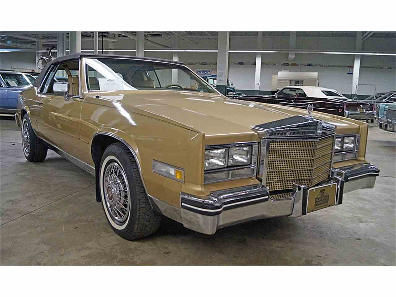 1985 cadillac eldorado for sale cc 981335. Black Bedroom Furniture Sets. Home Design Ideas