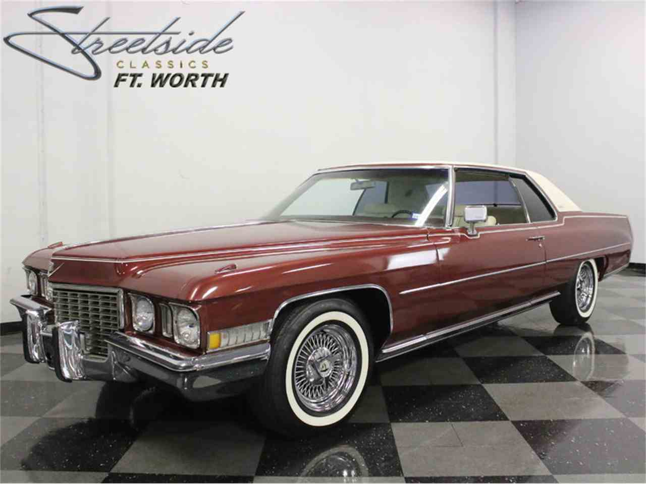 1972 Cadillac Coupe DeVille for Sale | ClicCars.com | CC-981432