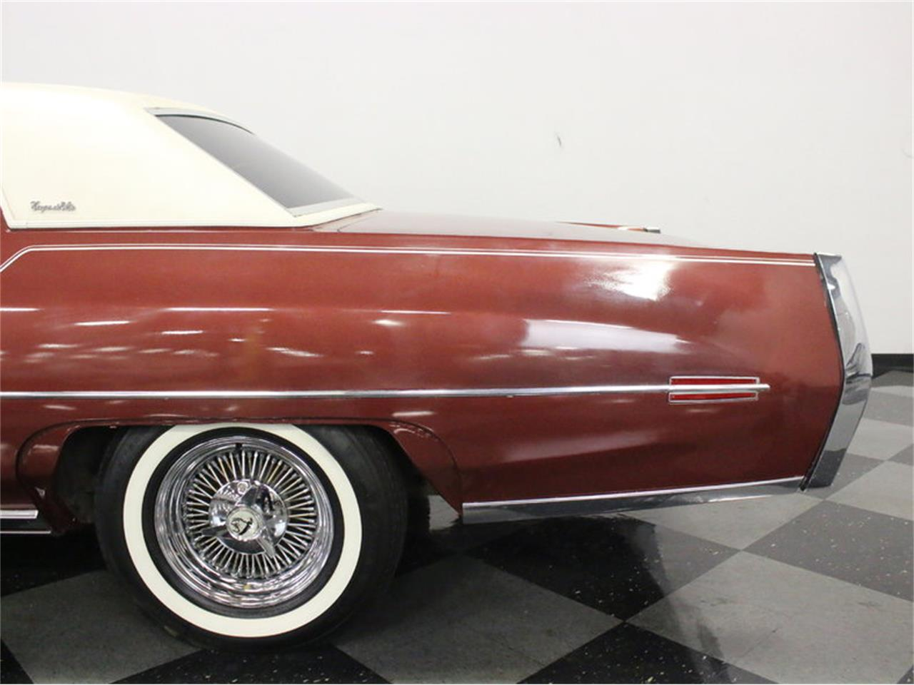 Large Picture of Classic 1972 Coupe DeVille located in Ft Worth Texas Offered by Streetside Classics - Dallas / Fort Worth - L1A0