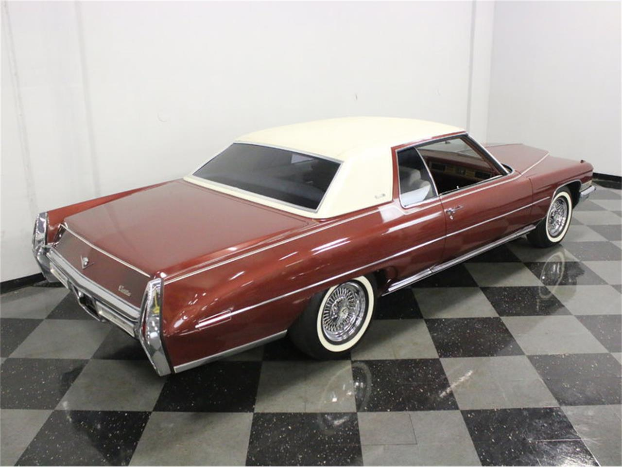 Large Picture of Classic '72 Coupe DeVille located in Ft Worth Texas Offered by Streetside Classics - Dallas / Fort Worth - L1A0