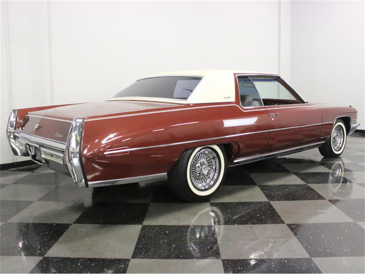Large Picture of '72 Cadillac Coupe DeVille located in Ft Worth Texas Offered by Streetside Classics - Dallas / Fort Worth - L1A0