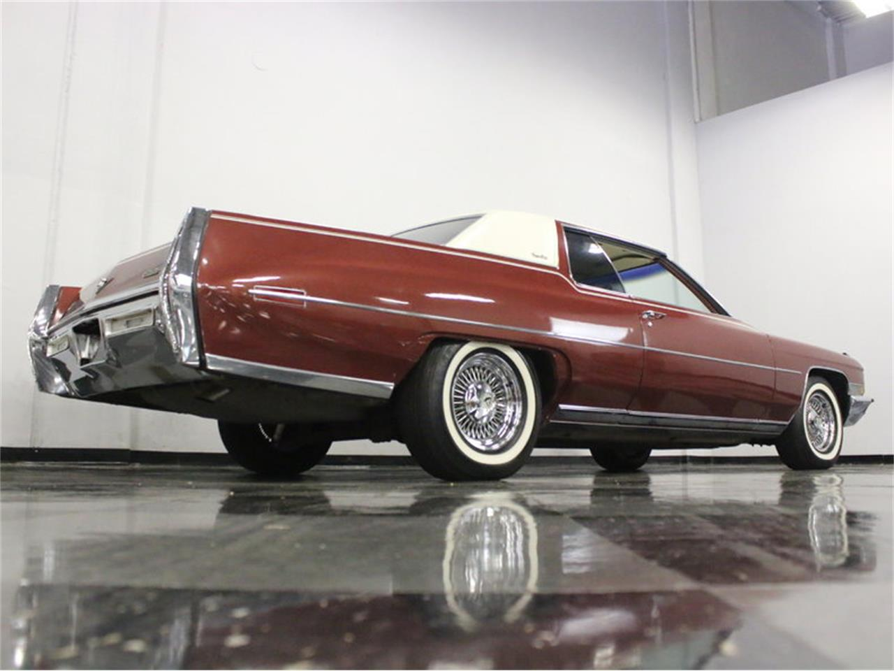 Large Picture of Classic 1972 Cadillac Coupe DeVille located in Texas - L1A0