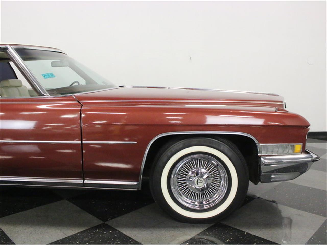 Large Picture of Classic '72 Cadillac Coupe DeVille - $9,995.00 Offered by Streetside Classics - Dallas / Fort Worth - L1A0