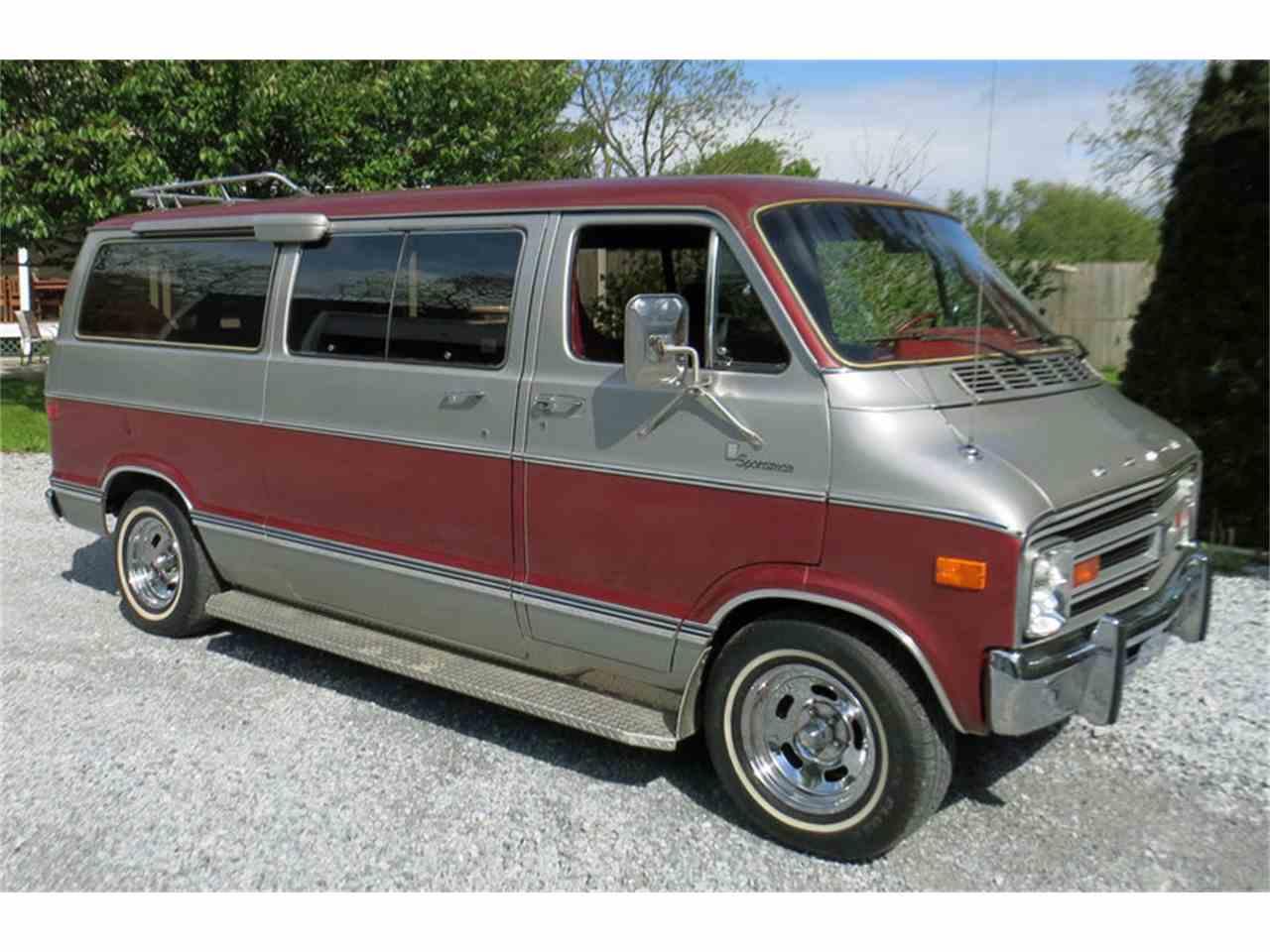 1978 Dodge D200 Sportsman Van For Sale Classiccars Com