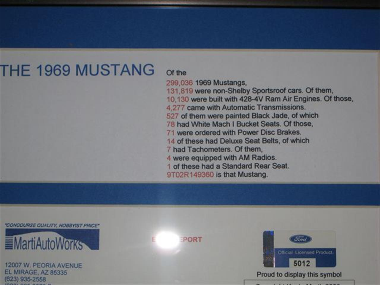 Large Picture of '69 Ford Mustang located in Milford Ohio - L1IM