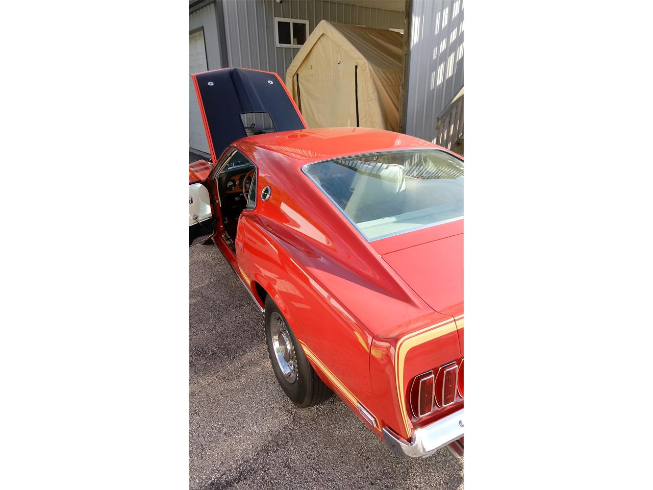 Large Picture of '69 Ford Mustang located in Milford Ohio Offered by Benza Motors - L1IN
