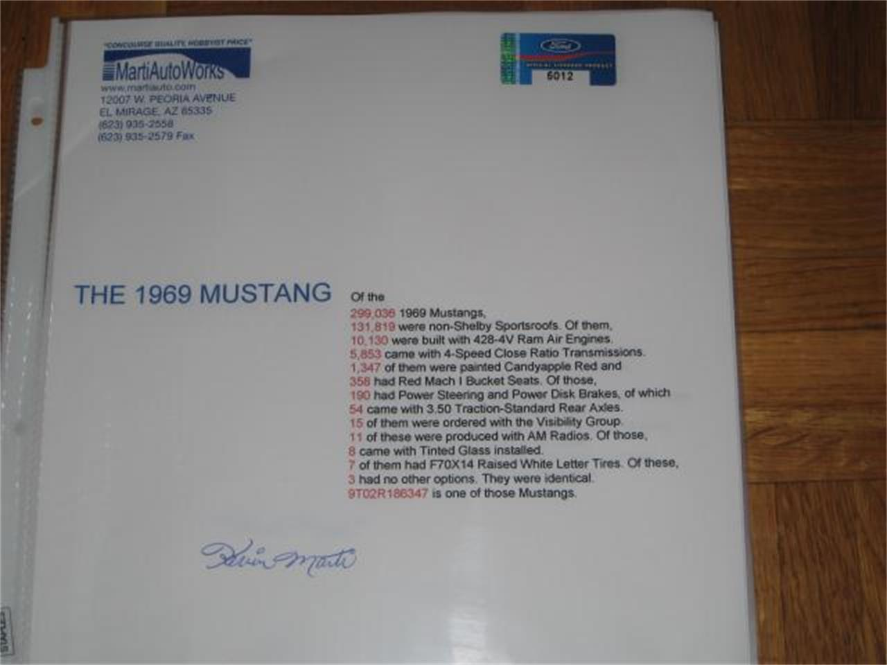 Large Picture of Classic '69 Ford Mustang - $119,900.00 - L1IN