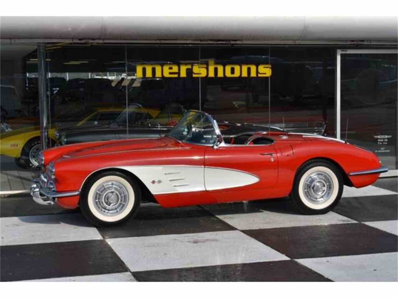 Large Picture of '58 Corvette - L1LR