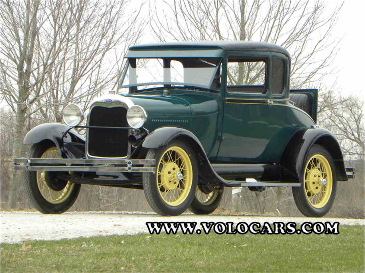 Large Picture of Classic 1929 Ford Model A Offered by Volo Auto Museum - L1MN
