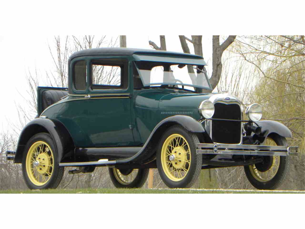 Large Picture of Classic 1929 Ford Model A located in Volo Illinois - $14,500.00 Offered by Volo Auto Museum - L1MN